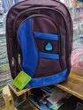 Black and Blue School Bag