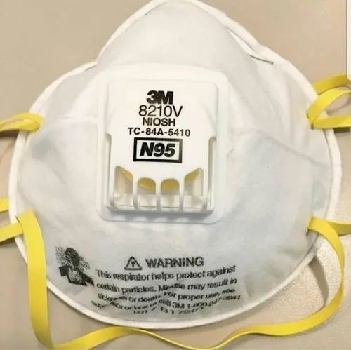 Disposable 3M N95 8210 MASK, For Hospital, Size: 8219