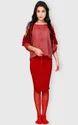 Scarlet Ruse Cold Shoulder Top Hourglass Shape Vilr0200b17