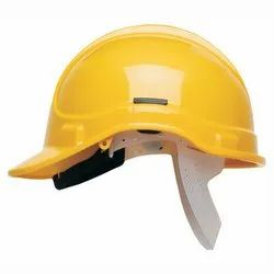 Yellow Safety Construction Helmet