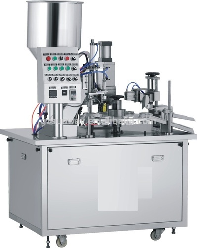 Automatic Hot Jaw Tube Filling Machine
