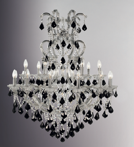 Crystal hanging chandelier shivswati enterprises private limited crystal hanging chandelier aloadofball Image collections