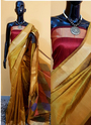 Handloom Banglori Silk Designer Sarees For Festival