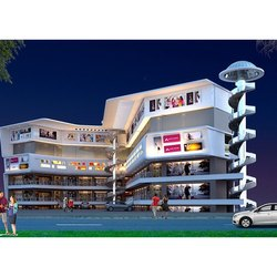 Concrete Frame Structures Commercial Projects Shopping Complex Construction Service