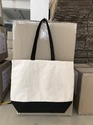 Canvas Black & Natural Bag