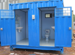 Portable Multiple Toilet Cabin
