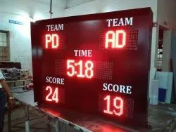 Scoreboard Display, Shape: Rectangle