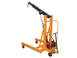 Manual Mild Steel Mobile Floor Crane