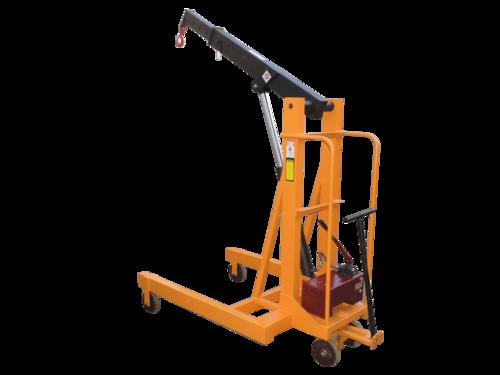Manual Mild Steel Mobile Floor Crane