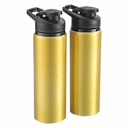 Metallic Loop Water Bottle