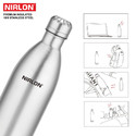 Nirlon Stainless Steel Vacuum Bottle 500ml