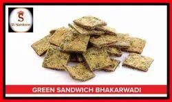 Green Sandwich Bhakharwadi