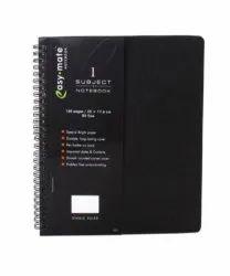 Branded Black Spiral Diary