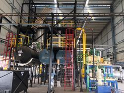 Wiped Film Evaporator Oil Recycling Plant