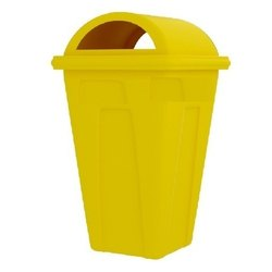 Yellow FRP Dustbin