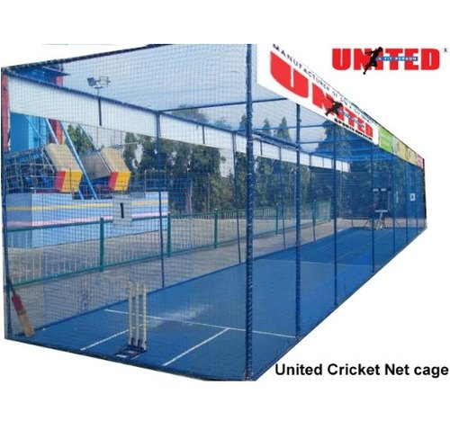 Automatic United Cricket Net Cage With Mat United Marketing Sports Emporium Id 4662518273