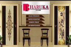 Wooden Printed Designer Lamination Door, Thickness: 30 mm