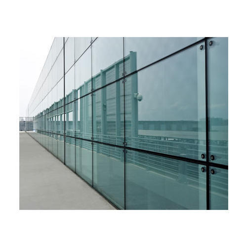 Glass Curtain Wall Glazing For Office, Rs 575 /square Feet
