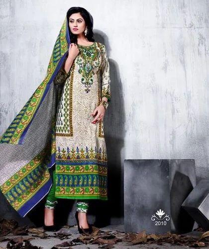 6bb29ad47 Party Wear Karachi Cotton Dress Material