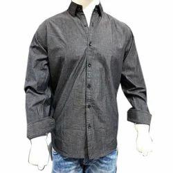 Full Sleeve TOGSUN Stylish Plain Cotton Shirt, Size: 38