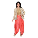 Designer Dhoti Salwar With Jacket Set