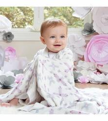 Organic Baby Swaddles Printed Cloths