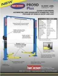 Hydraulic Two Post Lift - PRO9D