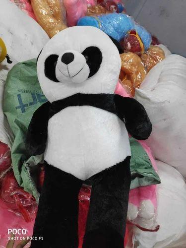 Anxiety Stuffed Animal, Black White Cotton Cute Panda Teddy Bear Rs 500 Piece Wales Overseas Id 20417012791