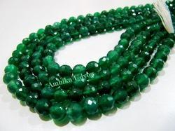 Green Onyx Gemstone Beads
