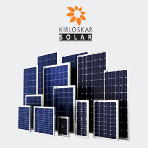Kirloskar Solar Panel Mono Perc Warranty 10 25 Year Rs 25 60 Watt Id 21245315873