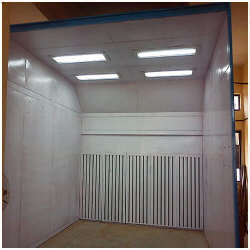 Paint Booths Motor Garage Paint Booth Exporter From New Delhi