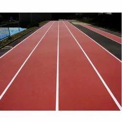 Rubber Running Track Flooring