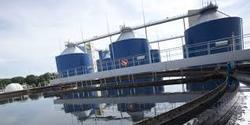 Industrial Sewage Treatment Plant.