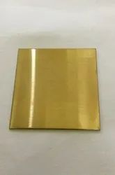 Stainless Steel Gold Matt Finish sheet 304g