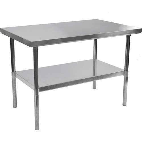 Perfect SS Restaurant Table, Size: 4x2 feet