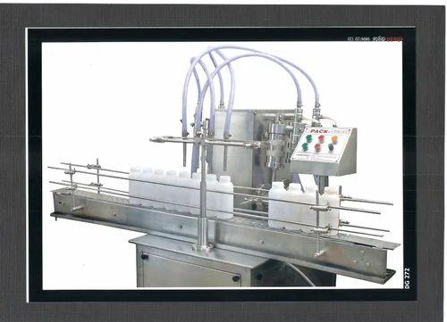 Soyabean Oil Filling Machine