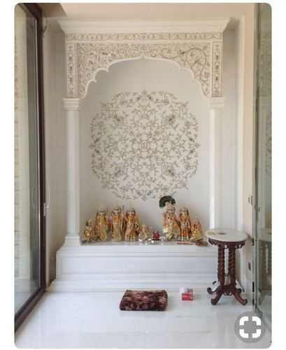 Corian Hindu Temple Design Devotional Mandir Dupont