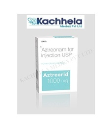 Medicine And Food Grade ISO Aztreorid 1 mg Injection, Usage: Clinical, Personal
