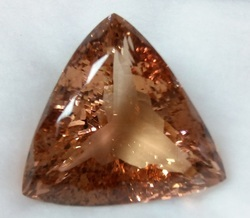Morganite Trillion