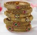Bgr Traditional Gold Bangles