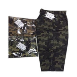 Casual Printed Mens Army Print Capri