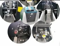 Semi Automatic Strapping Machine Two DC Motor