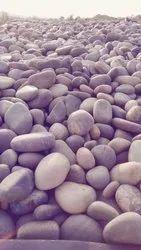 Gray River Pebblestones for Landscaping, Packaging Type: Jumbo Bags