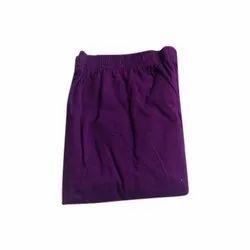 Purple Cotton Lycra Ladies Designer Legging, Size: XL- 5XL