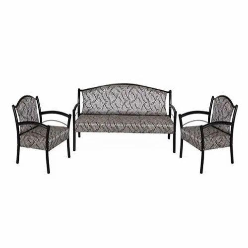 Powder Coated Mild Steel Sofa Set For Home Rs 10000 Set Aman Steel Furniture Id 16263496812