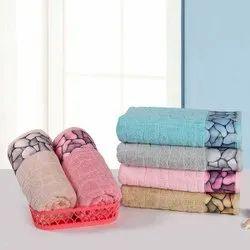 Stonewall jacquard printed towel