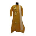Chanderi Kurti With Embroidery
