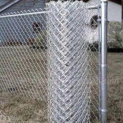 Silver Galvanized Iron Fencing Wire