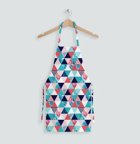 Cotton Printed Aprons Trend, Size: free, for Kitchen