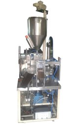 Semi Auto Tube Filling And Sealing (Hot Jaw) Rotary Machine